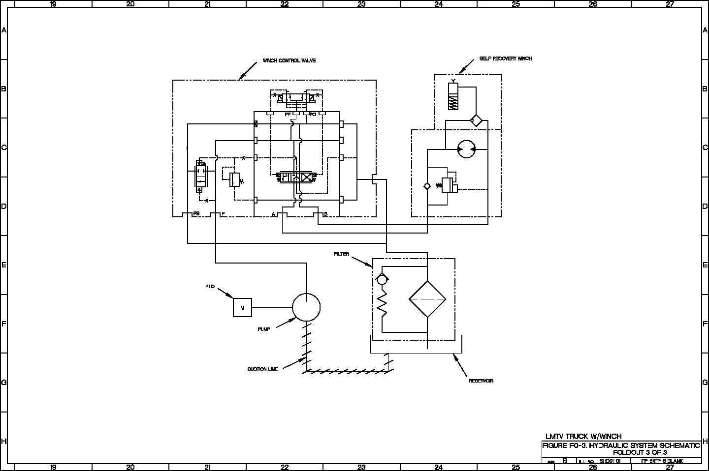 hydraulic schematic