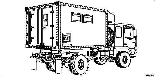 Figure 1-2. M1079 Truck, Van: 2 1/2 Ton, 4x4
