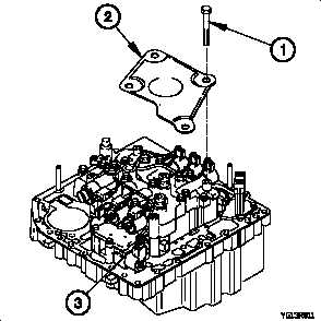 TRANSMISSION INTERNAL WIRING HARNESS REPLACEMENT