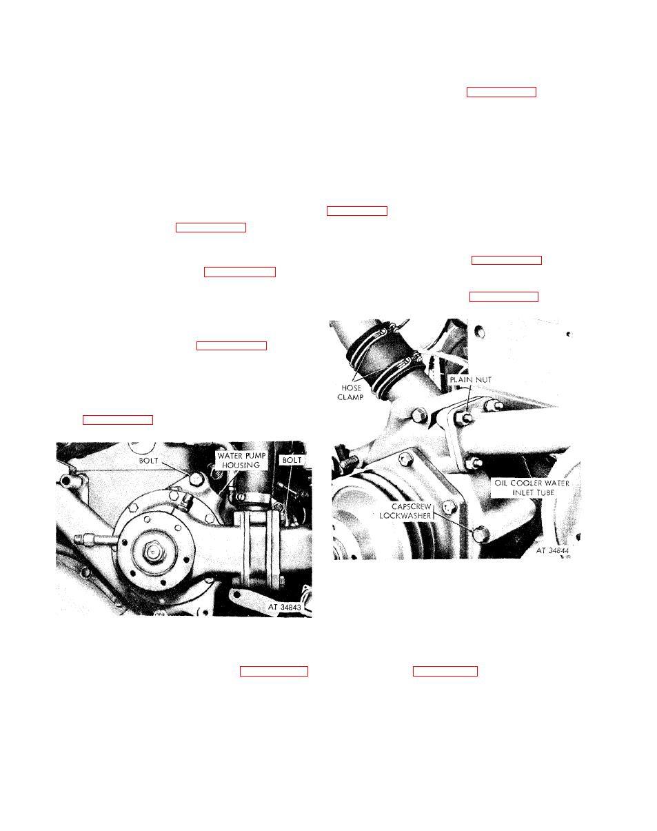 Water Pump-Diesel Engine