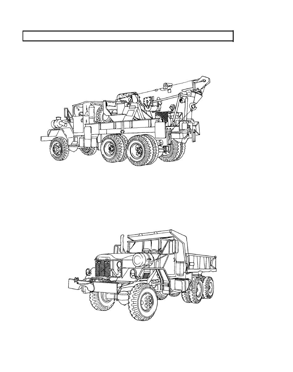 M816 Medium Wrecker Truck, W/W