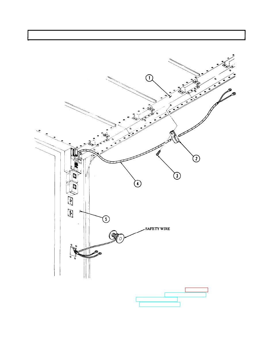 TELEPHONE POST WIRING HARNESS REPLACEMENT (Contd)
