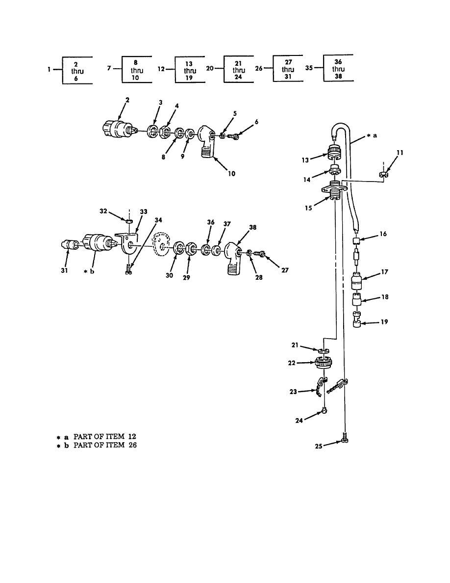 Figure 134. Instrument Panel, Floodlight, Heater, Warning