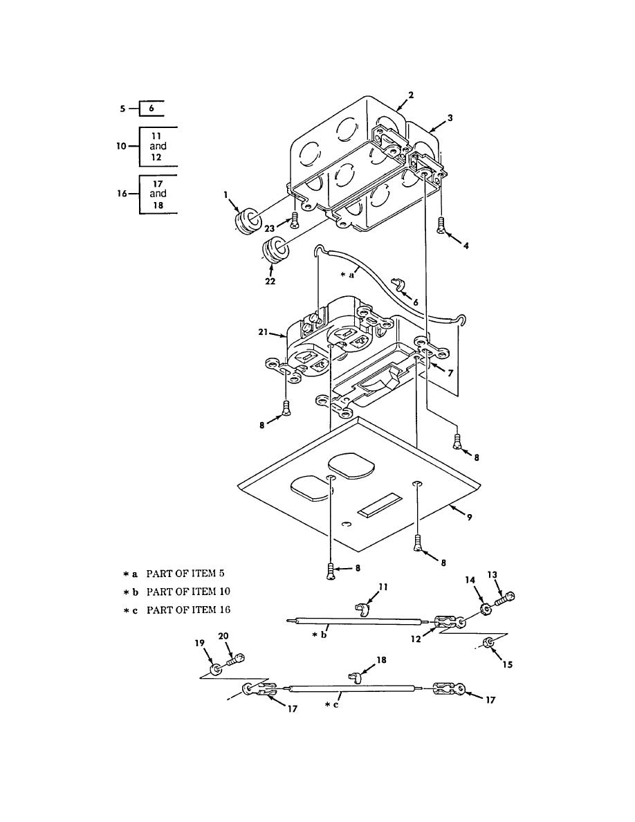 Figure 450. Van Ceiling Switch, Front Wall Switch