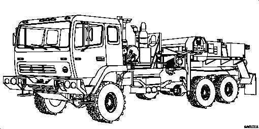 Figure 1-6. M1089 Truck, Wrecker: 5-Ton, 6x6