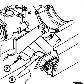 3-5. ENGINE BRACKET REPLACEMENT (CONT)