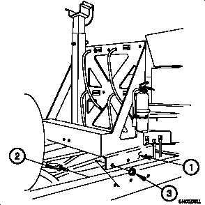 13-5. M1089 CRANE BOOM REST AND CYLINDER BRACKET