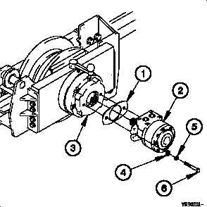 16-90. 15K SELF-RECOVERY WINCH (SRW) HYDRAULIC MOTOR
