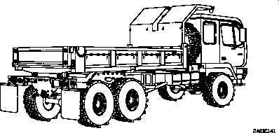 Figure 1-7. M1090 Truck, Dump: 5-Ton, 6x6