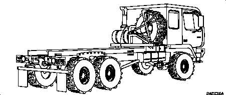 Figure 1-8. M1092 Truck, Chassis: 5-Ton, 6x6
