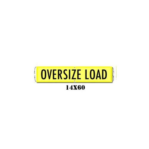 Oversize Load Banner with Bungee Cords (irongear)