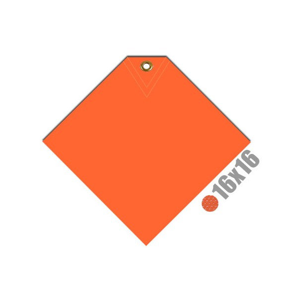 Safety Flag with Corner Grommet (irongear)