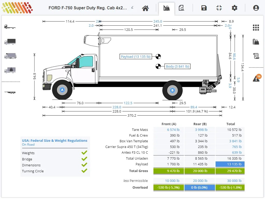 Axle Weight Calculator