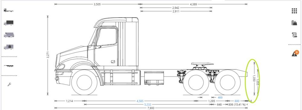 medium resolution of fifth wheel height