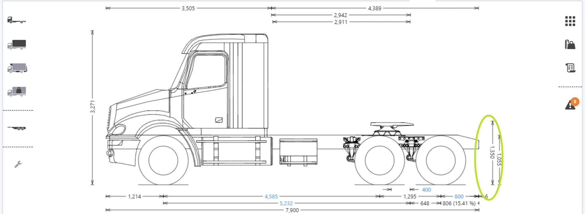 hight resolution of fifth wheel height
