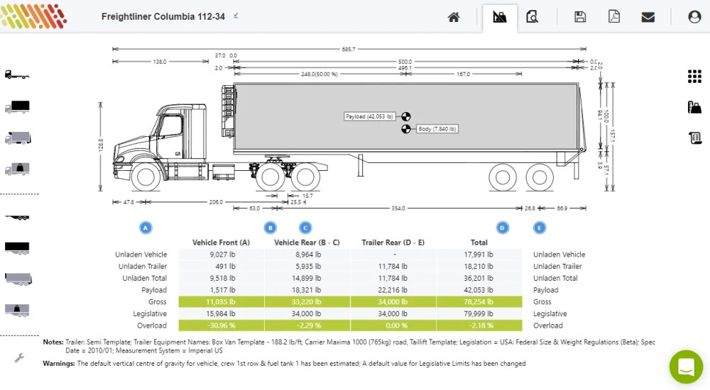 medium resolution of calculate axle weights for semi trailer truckscience tractor trailer axles diagrams