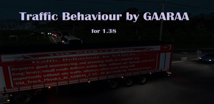 ETS2 - Traffic Behaviour (1.38.x) - Truck Simulator Mods Ets2 - Ats Mods