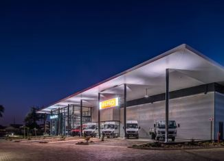 """Maemo Motors has taken into account the environment and incorporates a number of """"green building"""" features"""