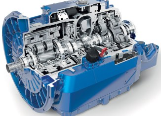 The Voith DIWA.6 automatic transmission.