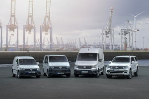 VW Commercial Vehicles delivered worldwide 390,900 vehicles from January to October