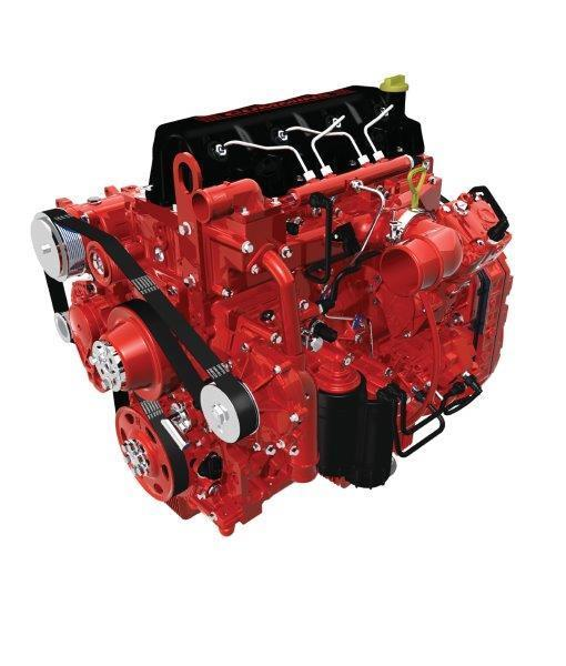 Cummins has introduced the 2.8 and 3.8 litre four-cylinder ISF engines.