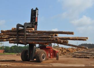 Taylor TXLS log stacker