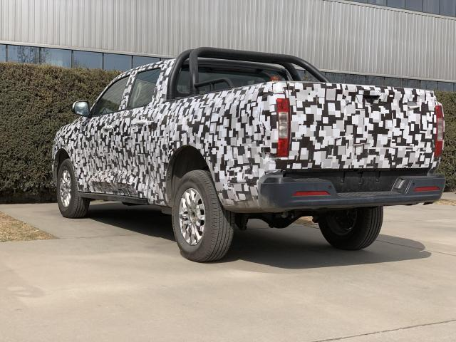New Large Bakkie from GWM Will Make Its Debut at Auto Shanghai 2019