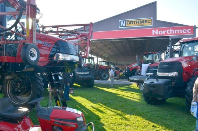 Case IH and Northmec at Nampo 2019.