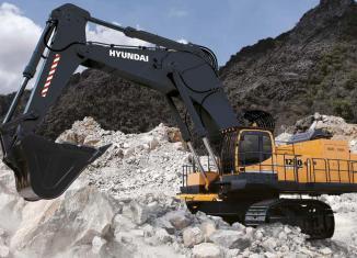 Robust Hyundai R1250-9 excavators replace R1200-9 series