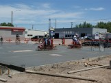 Construction of the new main building at Truck Stuff, located in Wichita, KS.
