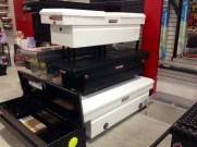 Toolboxes on display in our Showroom