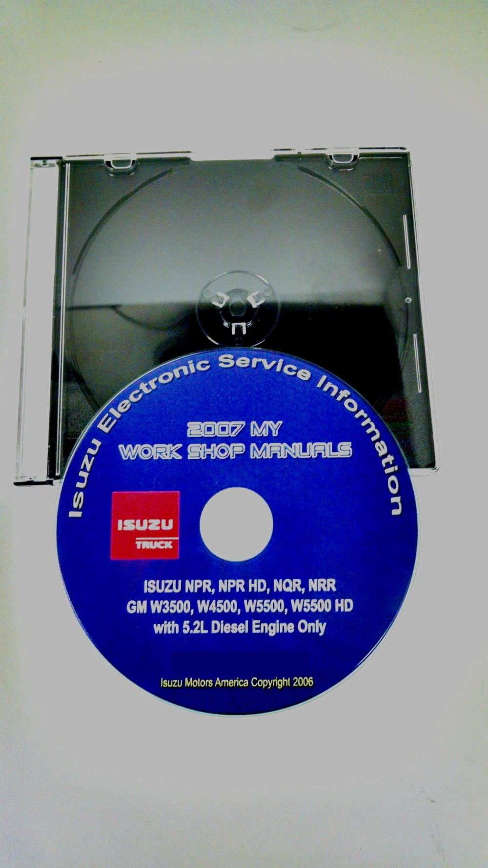 medium resolution of 2007 npr nqr nrr gm w3500 w4500 w5500 service manual cd rom 2006 isuzu npr hd 2007 w4500 isuzu npr hd engine diagram