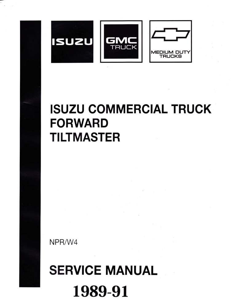 1989-1991 NPR Diesel Service Manual