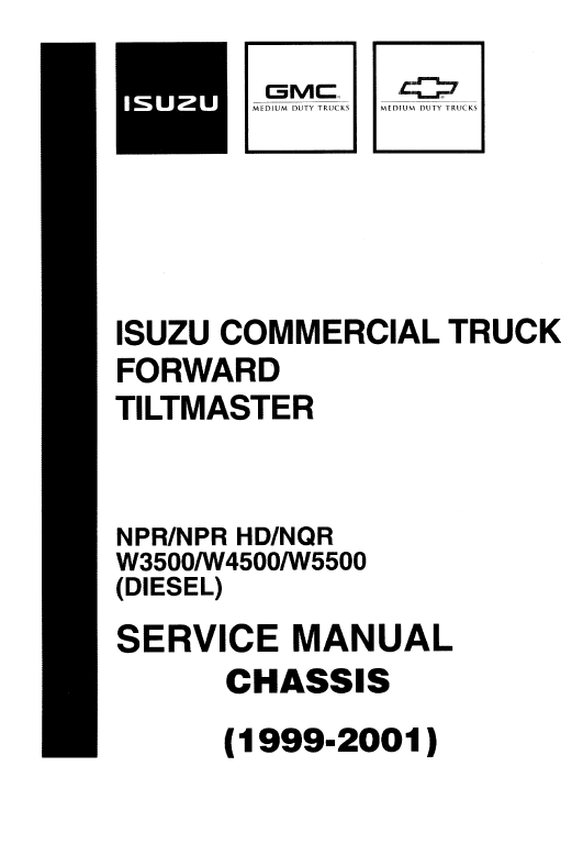 1999-2001 NPR/NQR Chassis Service Manual