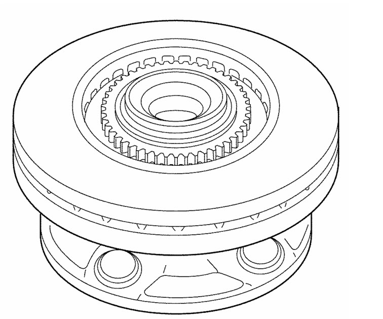 ABS TONE RING REPLACEMENT KIT