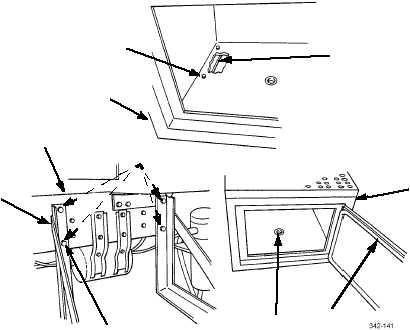 BASIC ISSUE ITEMS (BII) STORAGE BOX AND MOUNTING BRACKET