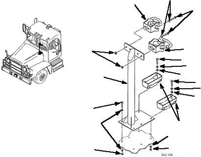 M16 RIFLE MOUNTING BRACKET REPLACEMENT