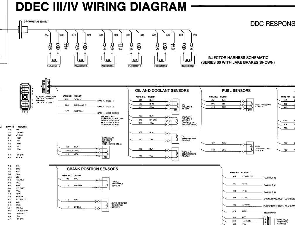 [DIAGRAM_38EU]  Wiring Diagram For Detroit 60 Series Engine | Detroit Sel Wiring Schematics |  | Wiring Diagram