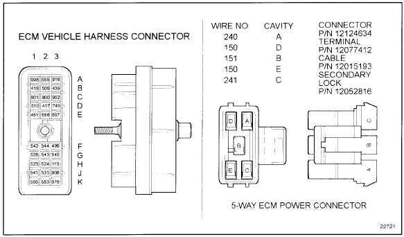 detroit series 60 ecm wiring diagram 1972 honda cl350 figure 22-7 vehicle harness connector