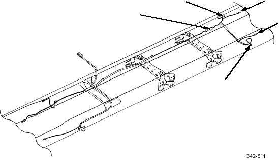 REAR ANTI-LOCK BRAKE SYSTEM (ABS) WIRING HARNESS