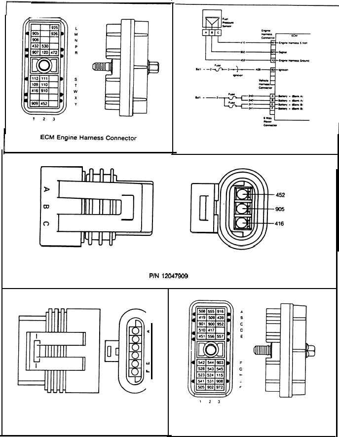detroit series 60 ecm ddec v wiring diagram