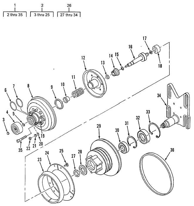 Figure 58. Fan Clutch Assembly (M916A2, M917A1's)