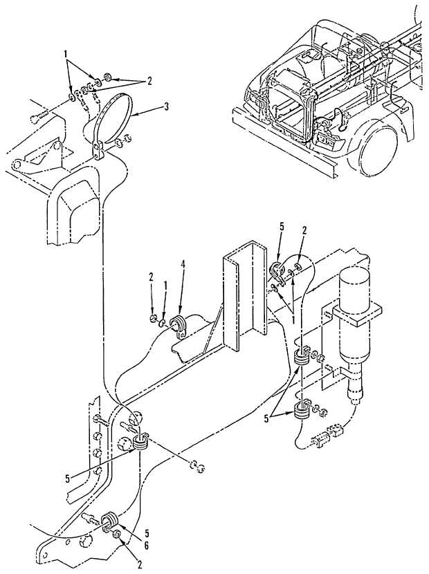 Figure 84. Chassis Wiring Harness Mounting Hardware