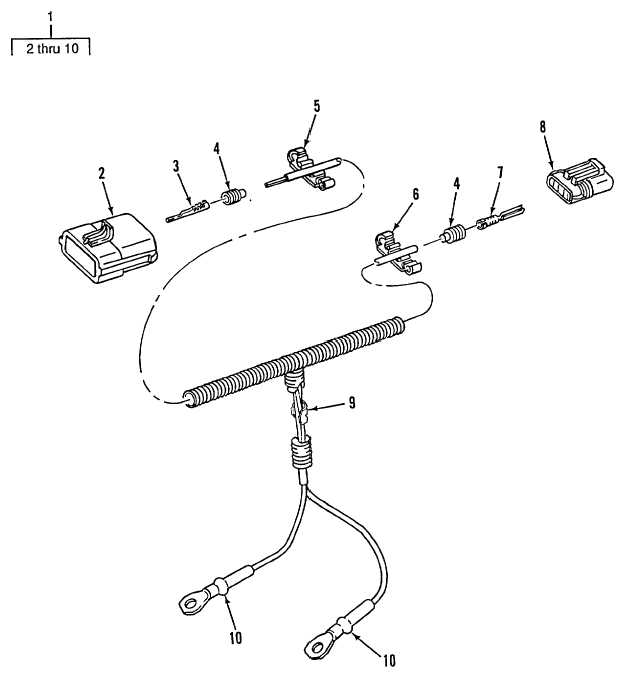 Figure 115. Alarm/Backup/Taillight Wiring Harness (M917A1s)