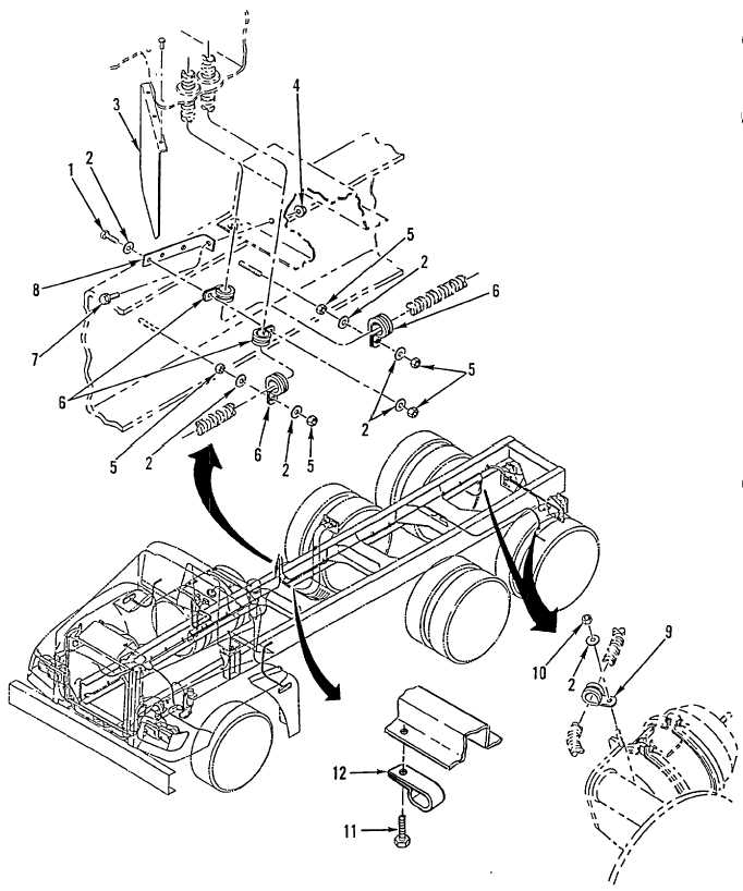 Figure 136. ABS Wiring Harness Hardware