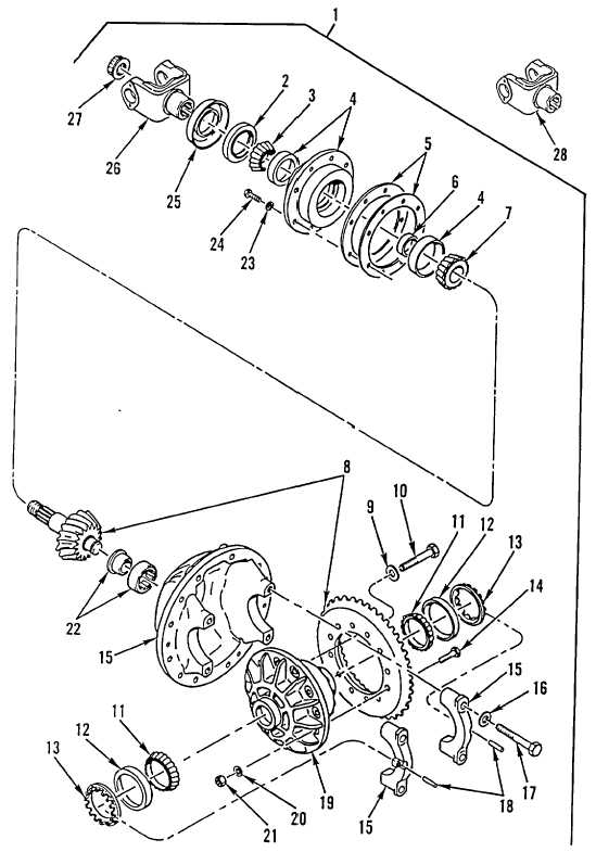 Figure 190. Rear-Rear Axle Differential Carrier Assembly