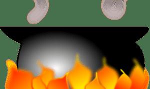 Limpiar una olla quemada con vinagre  Trucos de hogar caseros