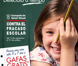 Campaña de Salud Visual Contra el Fracaso Escolar de la Fundación Alain Afflelou