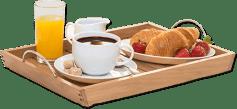 Ayuda a tus hijos a preparar el desayuno favorito de papá.