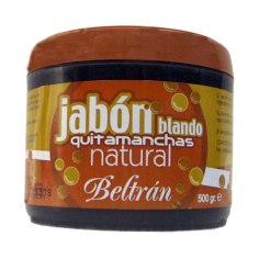 Jabón-Beltrán-Blando-Quitamanchas-natural-aceites-vegetales-para-manchas-y-rozaduras-500-gr